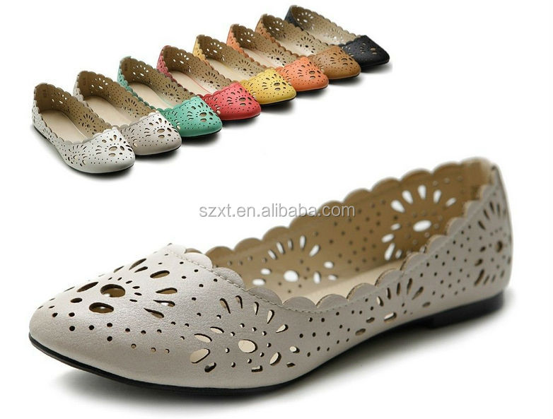 OEM Flat Pictures Of Women Flat Dress Shoes Ladies Shoes Laser PU Flat Pump  Shoes - Oem Flat Pictures Of Women Flat Dress Shoes Ladies Shoes Laser Pu