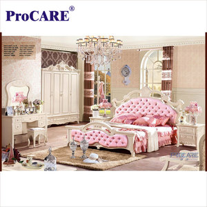2018 FOSHAN European style modern princess bedroom set