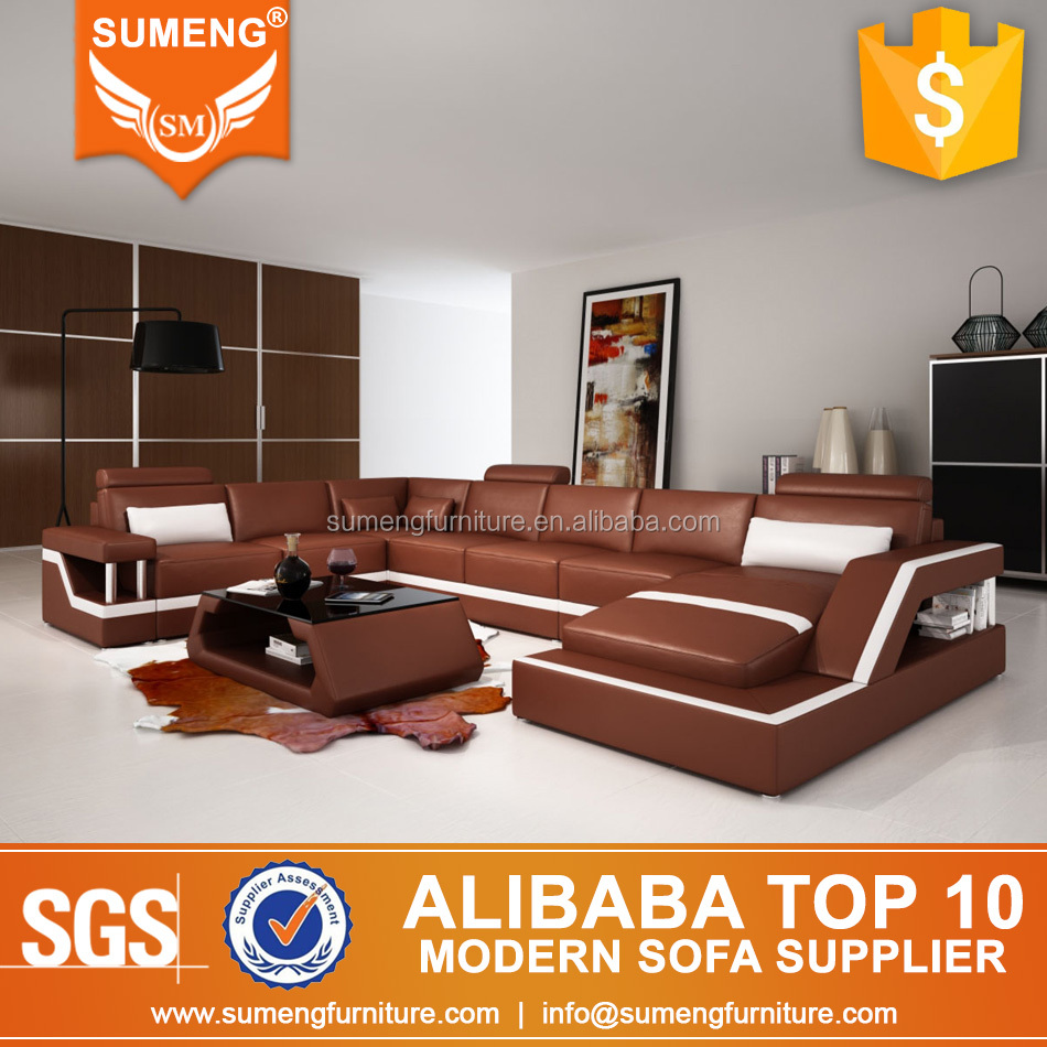 SUMENG Arabic best 7 seater sofa sets