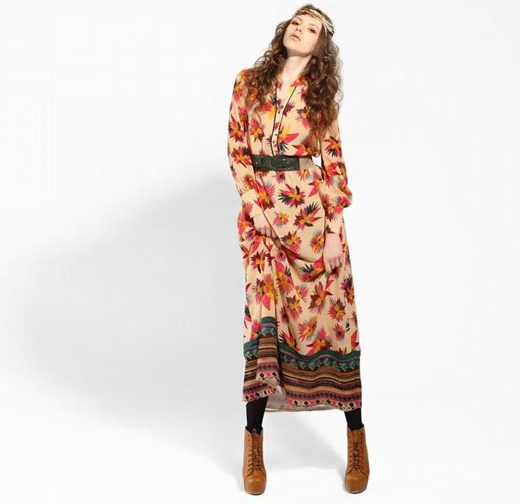 cd4172313ca Turmec » summer long sleeve maxi dresses
