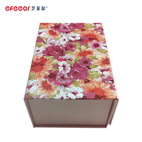 New style production hot sale shoes cardboard box with ribbon handle closure