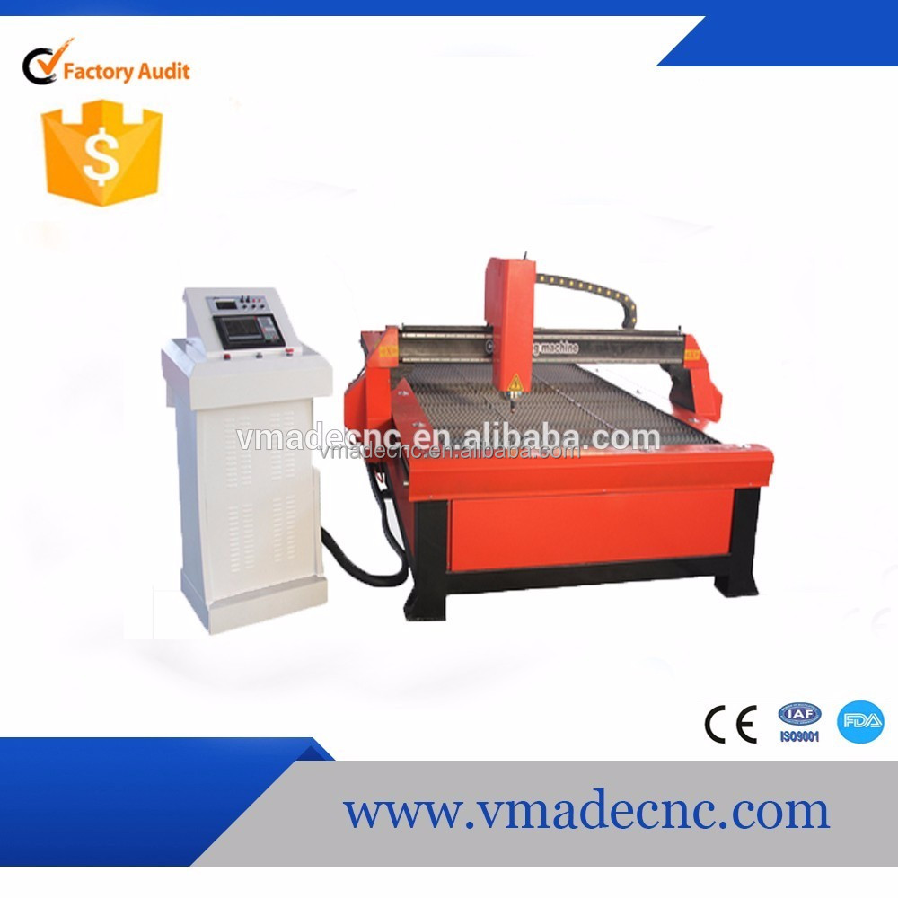 Shandong cnc machine factory supply the high accurancy cnc metal cutting machine VLP15301325 100A
