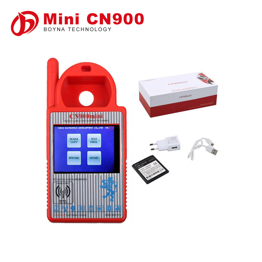 Universal Hand held Smart MINI CN900 Key duplicating Programmer for 4C/46/4D/48/G Transponder Chips Support all key lost