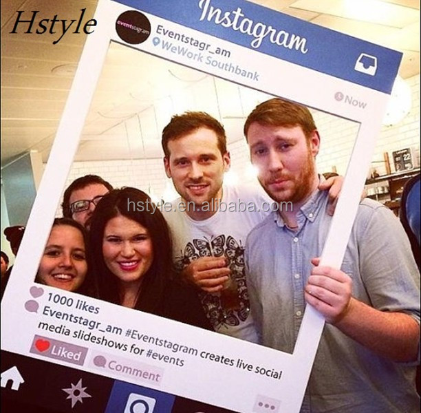 Professional Instagram Frame Props Party & Celebrations Photobooth ...