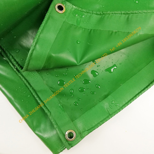 HighTear Polyester coated Fabric Strength UV and waterproof Treated PVC Vinyl Knife Coated Fabric PVC Industrial