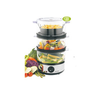 Jestone hot sales high quality 6L large capacity Triple Electric Food Steamers