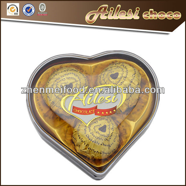 3PC Heart chocolate