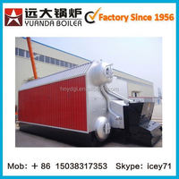 Green and Low Investment hot water firewood fired boiler