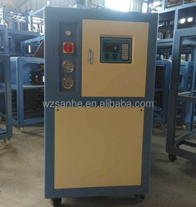 China chillers manufacture for 8.5kw Air cooled chiller plant India