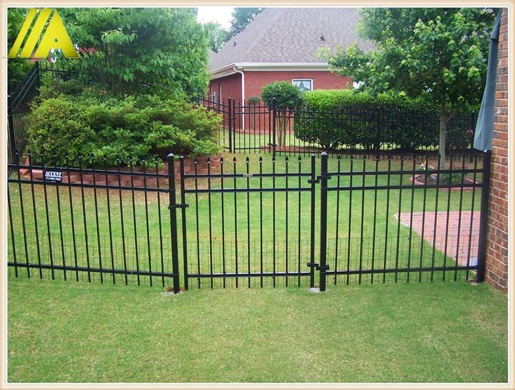 Powder Coating Backyard Black Aluminum Fence Panel Buy