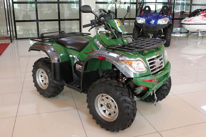 Street legal EPA approved power full 4x4 off road 500cc quad bike