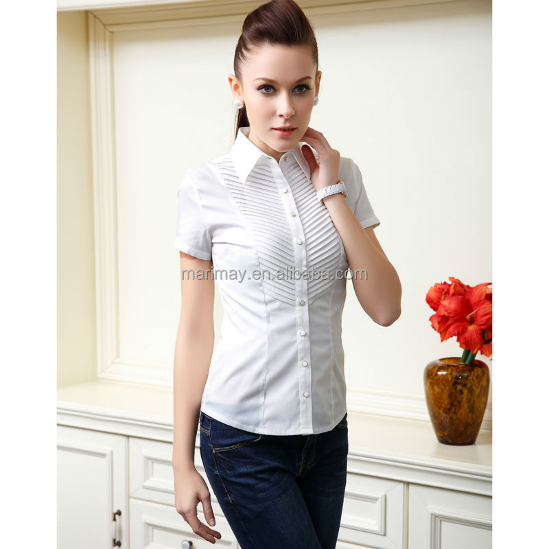 Stylish Trendy Fashion Short Sleeve Formal Shirt For