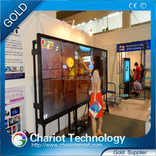 Fast shipping Chariot usb laptop multi touch screen overlay for table bar with low price