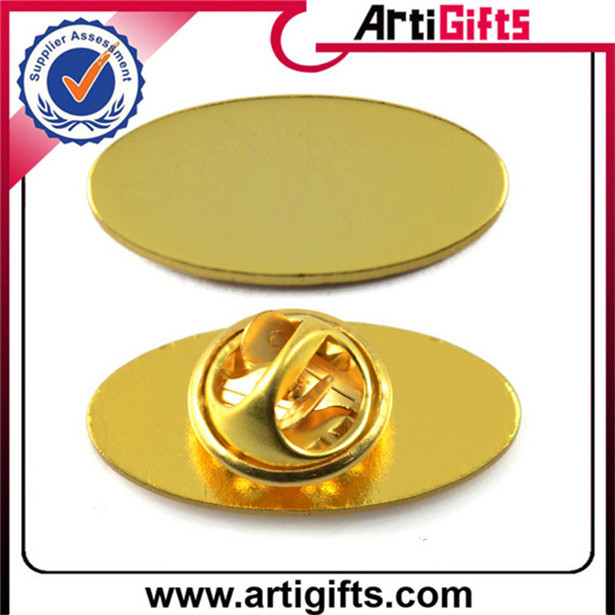 Wholesale souvenir gold plated number and letter lapel pins