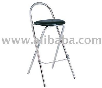 Excellent Folding Bar Stool Black Faux Leather Buy Bar Stool Product On Alibaba Com Caraccident5 Cool Chair Designs And Ideas Caraccident5Info