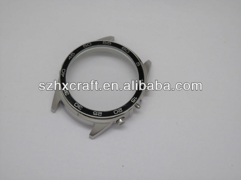45mm watch stainless steel case