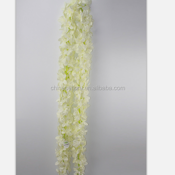 Silk Flower Wedding Decoration Artificial Flowers Wisteria Garland