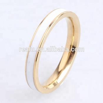 Custom Fashion Jewelry Enamel Paint Rings African Wedding Rings