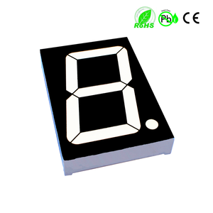 Factory wholesale electronic accessories 7 segment display led outdoor display 2, 3, 4, 5 inch