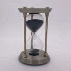 30 minutes antique brass hourglass sand timer