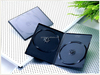 PP material long plastic black wedding dvd case