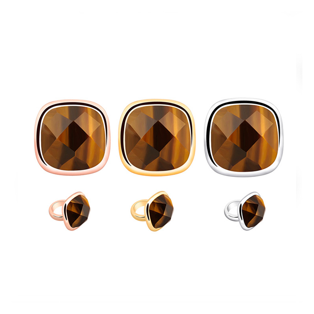 New 2018 Jewelry Tiger Eye Stone African Jewelry Charms