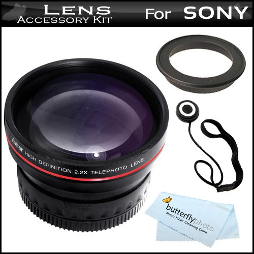 Microfiber Cleaning Cloth for Sony HDR-CX700V 37mm Circular Polarizer Multicoated Glass Filter CPL