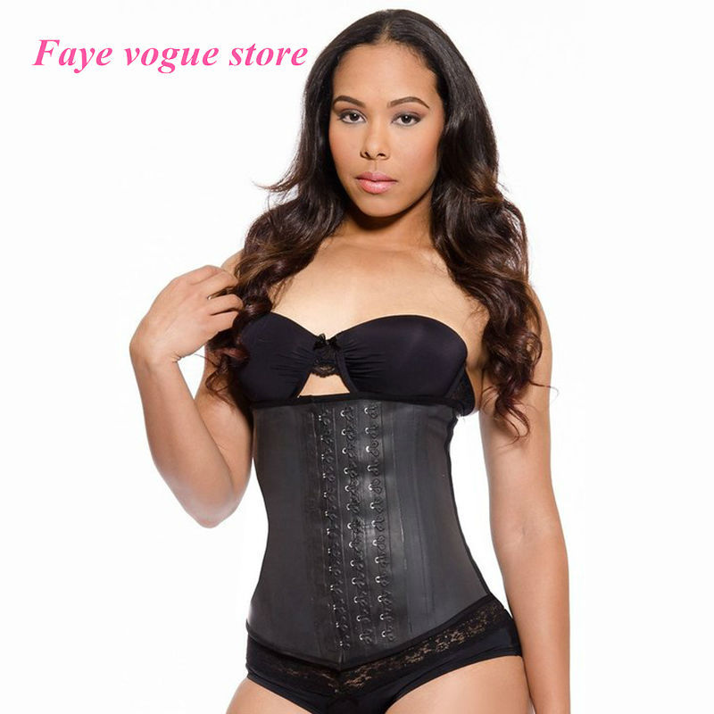 e98967177f 2015 Hot Sale New Style Ann Chery Body shaper Latex Waist trainers Corsets  Underwear black underbust