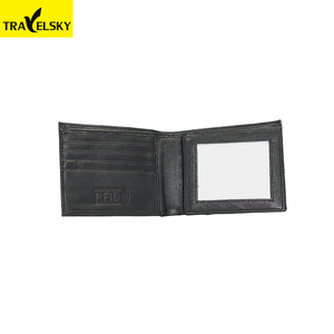 Hot selling portable man RFID wallet for travel