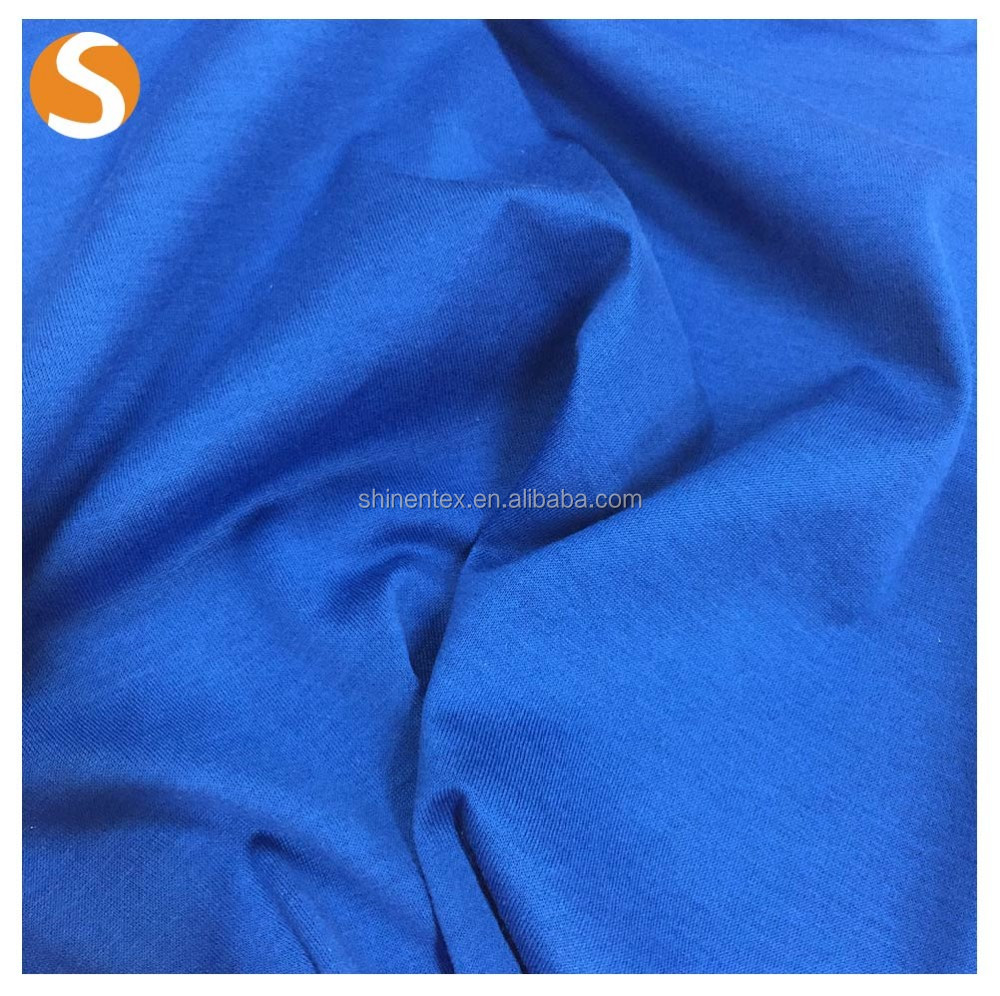Make-to-Order Supply Type100% cotton percale jersey knit fabric