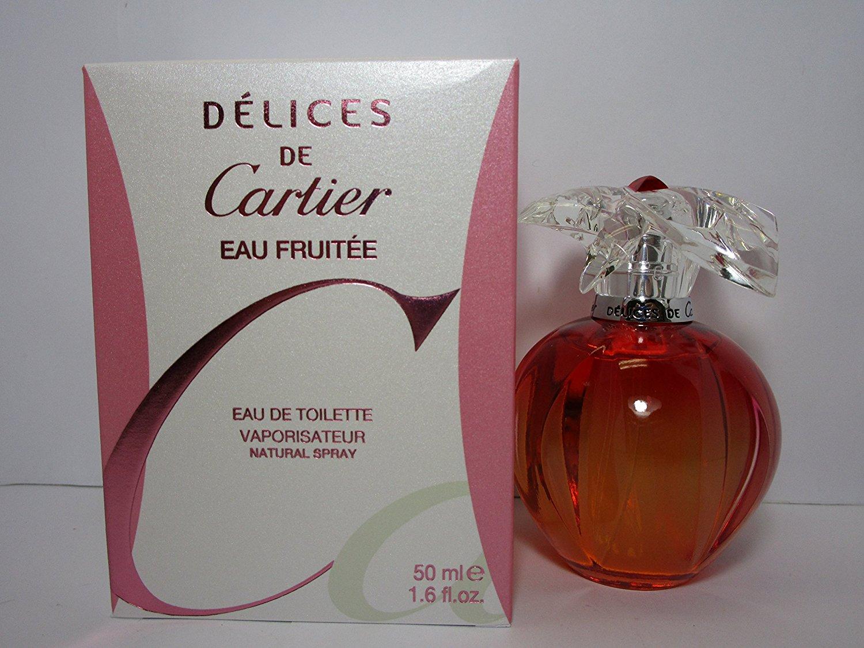 Delices de Cartier Eau Fruitee Perfume for Women 1.7 oz Eau De Toilette Spray