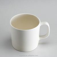11 OZ white color melamine coffee mug with handle