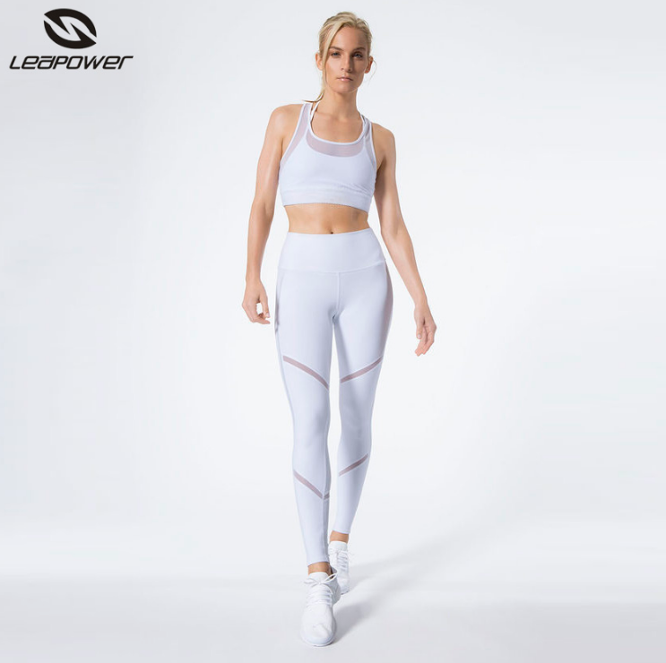 New Custom Polyester Spandex plain Yoga Hose weibliche Fitness aktive Abnutzung Frauen Sport Leggings