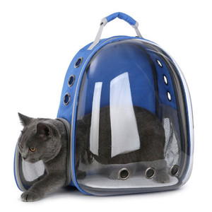 Outdoor Transparent Travel Space Capsule Puppy Cat Pet Carrier Backpack for Dog