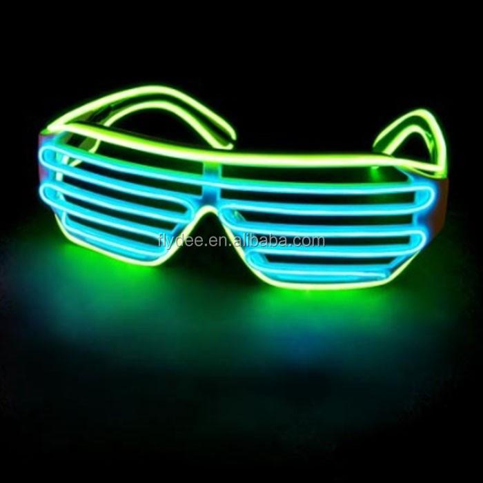 Custom Flashing Multi Color Neon El Wire Led Light Up Luminated ...