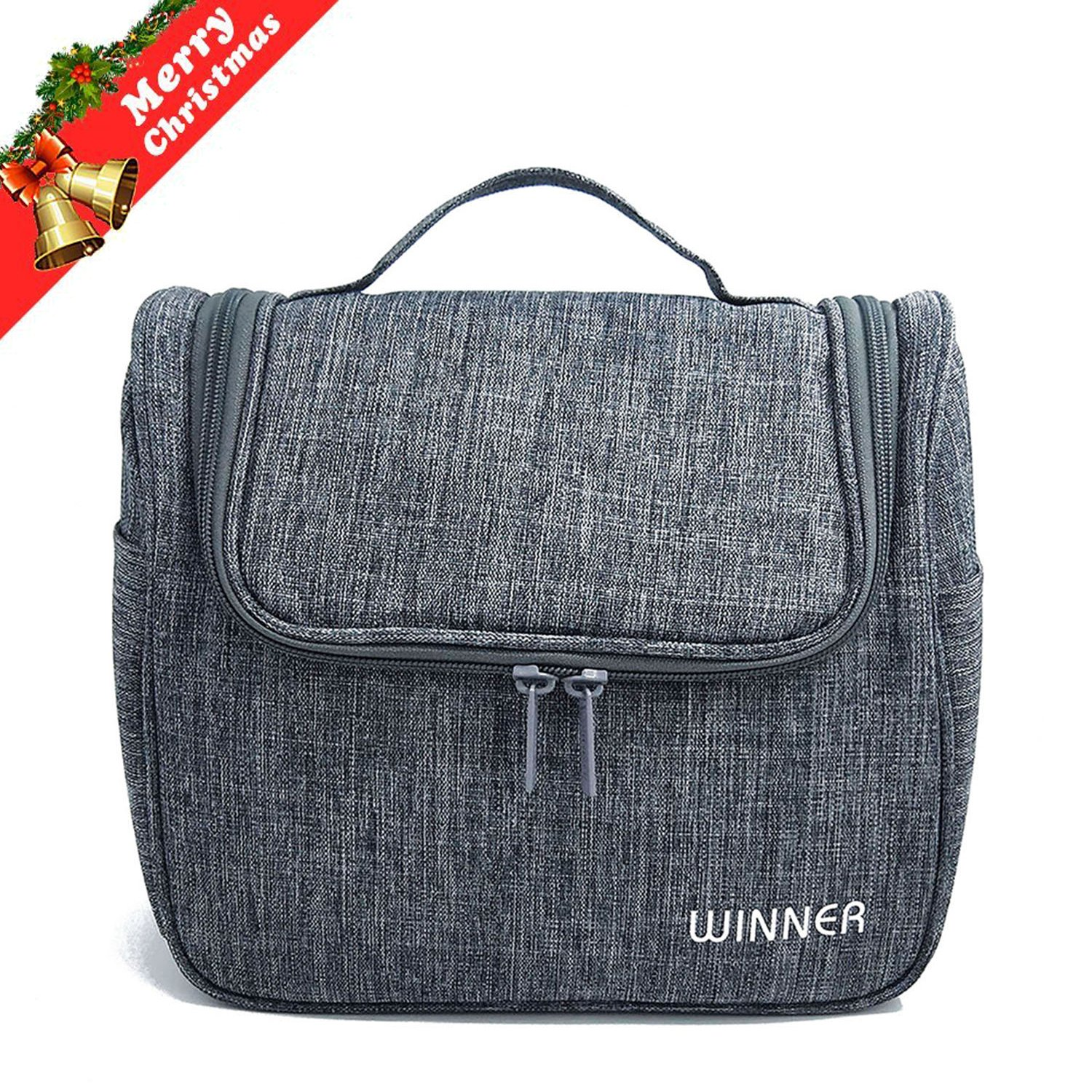 069197df82 Hanging Toiletry Bag - Mens Toiletry Travel Bag - Large Capacity Travel  Accessories