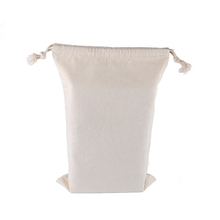 Recycled Design Grocery Bag Plain White Cotton Bag