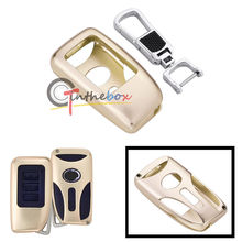 Gold Aluminum Remote Key Fob 2 3 Buttons Shell Cover For Lexus IS350 LS NX GS