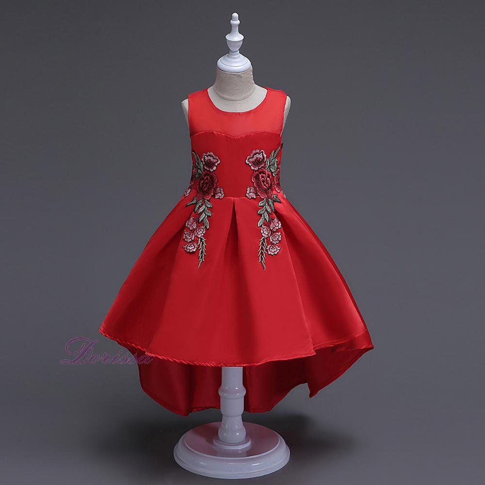 pictures for children gown long dresses for kids latest red party children long frocks designs