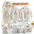 100% Organic Cotton Infants Baby Clothing Sets For Newborn Gift Box Clothes