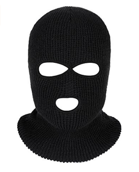 df9d5c6816b Winter Ski Face Covered 3 Hole 2 Hole Knitted Warm Balaclava - Buy ...