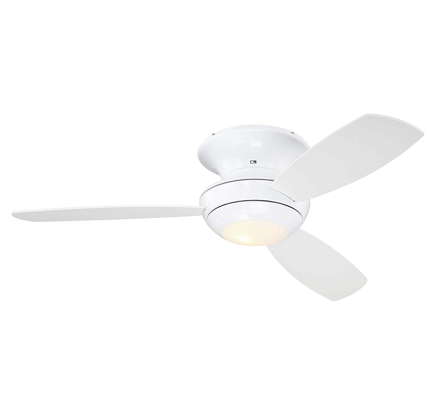 """Trade Winds Lighting TW020330WH Outdoor 52"""" Ceiling Fan w/Light in White"""