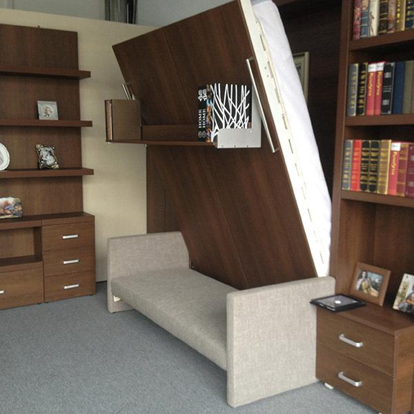 Murphy Bed Name Origin: Modern Bedroom Set,Melamine Double Bed,Wooden Bed Shenzhen