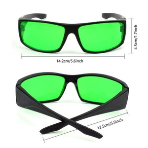 Grow Light Room Glasses Goggles for Indoor Garden Hydroponics,Anti UV IR Intense Light Reflection