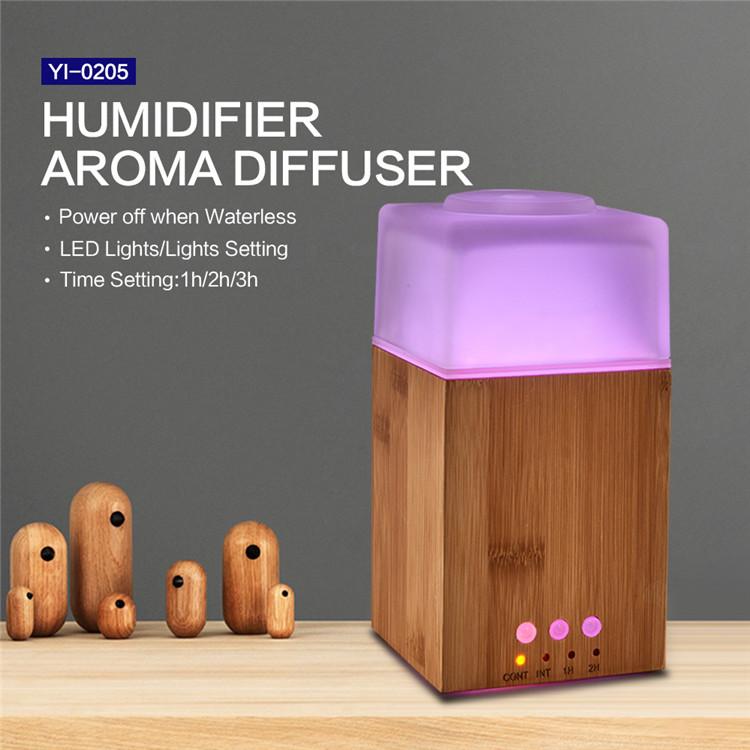 2018 Home Ultrasonic Mini Bamboo Aroma Diffuser