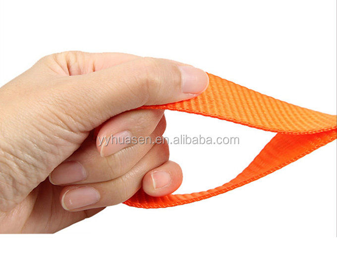 Orange Handles of Portable Saw Chain with the Pouch