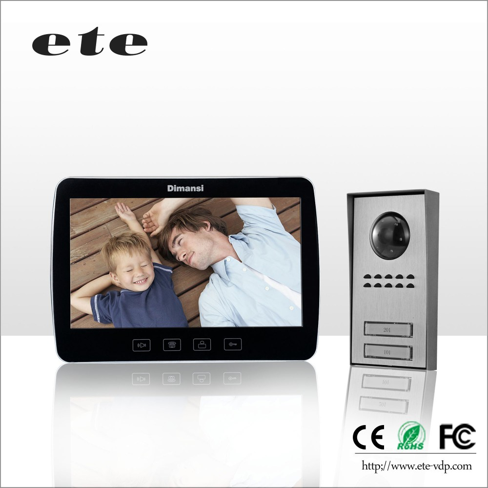 10 39 39 cheap video intercom apartment wired audio door bell