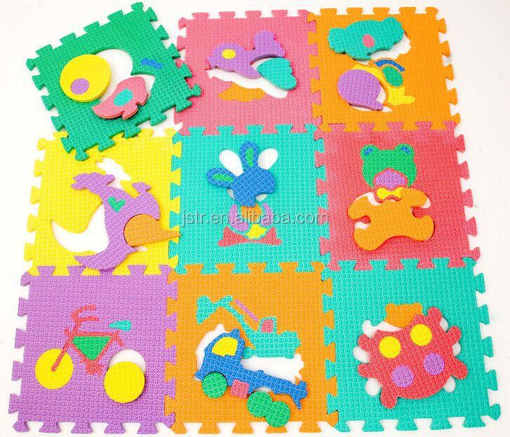 Custom Design Eva Foam Educational Jigsaw Puzzle Mat For