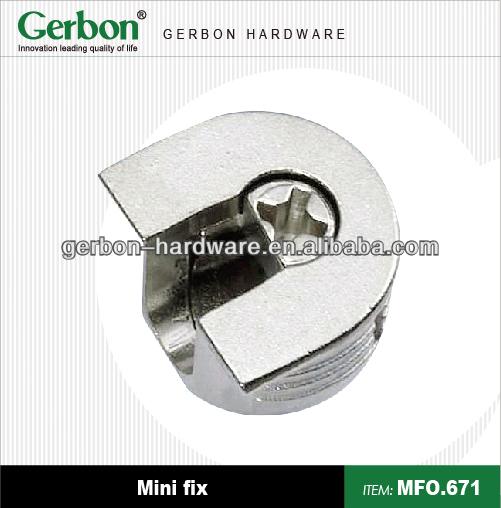 Furniture cam lock designs