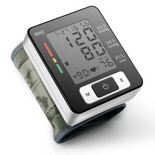 Household Wrist Sphygmomanometer Electronic Automatic Blood Pressure Monitor Monitor Measuring